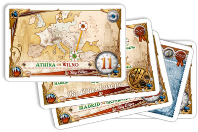 Ticket to Ride Europa 1912 bestemmingsroutes