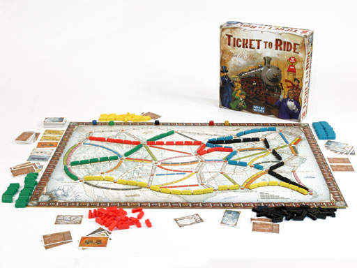 een spel Ticket to Ride