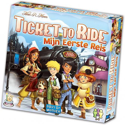 Ticket to Ride Junior spel