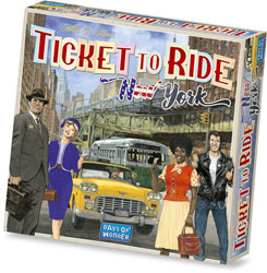 Ticket to Ride New York spel