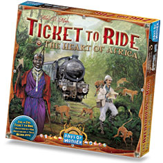 Ticket to Ride Haert of Africa