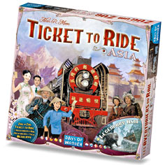 Ticket to Ride Map Asia