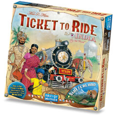 Ticket to Ride Map India