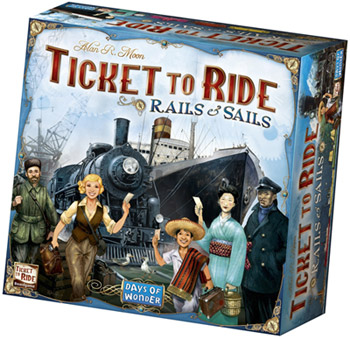 Gezelschapsspel Ticket to Ride Rails en Sails